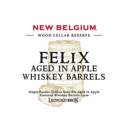 New Belgium Brewing 'Felix aged in Apple Whiskey Barrels' 375ml