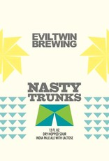 Evil Twin 'Nasty Trunks' Dry Hopped Sour IPA w/ Lactose 16oz Sgl (Can)