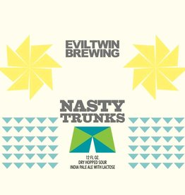 Evil Twin 'Nasty Trunks' Dry Hopped Sour IPA w/ Lactose 16oz (Can)