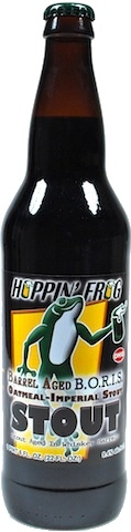 Hoppin' Frog Hoppin' Frog 'Barrel-aged BORIS The Crusher' 22oz