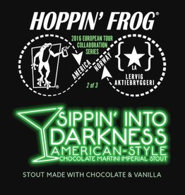Hoppin' Frog 'Sippin Into Darkness' Chocolate Martini Imperial Stout 12oz Sgl