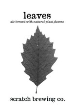 Scratch 'Leaves' Ale Brewed w/ Natural Plant Flavors 500ml