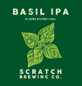 Scratch 'Basil IPA' Ale brewed w/ Honey & Basil 750ml