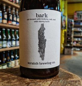 Scratch 'Bark' Ale Brewed w/ Hickory, Oak, and Wild Cherry Bark 500ml