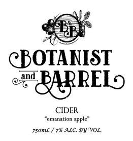 Botanist & Barrel 'Emanation Apple' Cider 750ml