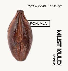 Pohjala 'Must Kuld' Porter with Cocoa Nibs 11.2oz Sgl
