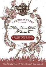 Granite Falls 'The Untold Want' Cherry Ale Aged in Oak Barrels 750ml