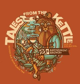 21st Amendment 'Tales from the Kettle' Scotch Ale w/ Black Tea Leaves 12oz Sgl (Can)
