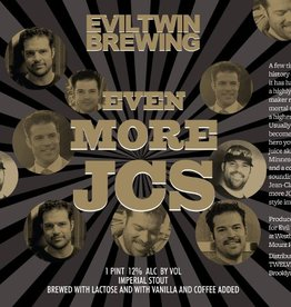 Evil Twin 'Even More JCs' Imperial Stout w/ Lactose, Coffee, and Vanilla 16oz (Can)
