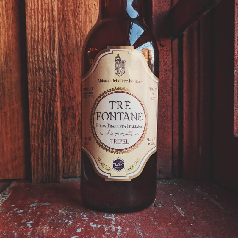 Tre Fontane 'Birra Dei Monaci' Trappist Tripel Ale 330ml