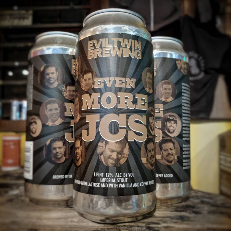 Evil Twin 'Even More JCs' Imperial Stout w/ Lactose, Coffee, and Vanilla 16oz Sgl (Can)