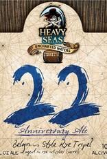 Heavy Seas '22nd Anniversary Ale' Tripel aged in Rye Whiskey Barrels 22oz