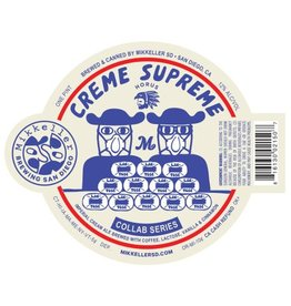 Mikkeller SD 'Creme Supreme' Imperial Cream Ale 16oz Sgl (Can)