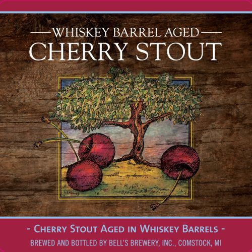 Bell's 'Whiskey Barrel Aged Cherry Stout' 12oz Sgl