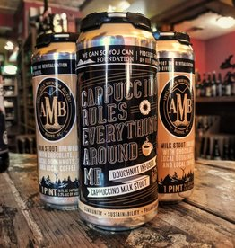 Appalachian Mountain C.R.E.A.M.' Donut Infused Cappuccino Milk Stout 16oz Sgl (Can)