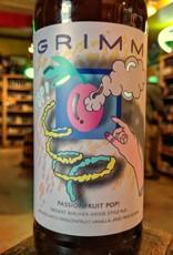 Grimm Ales 'Passionfruit Pop!' Dessert Berliner Weisse Style Ale 22oz