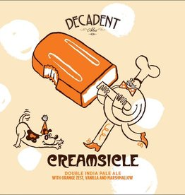 Decadent Ales 'Creamsicle' Double IPA 16oz Sgl (Can)
