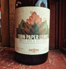Haw River Farmhouse Ales 'Torn Paper Leaves' Tripel Aged in Red Wine Barrels 500ml