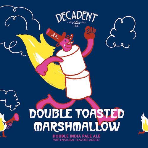 Decadent Ales 'Double Toasted Marshmallow' DIPA 16oz (Can)
