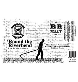 Hourglass 'Round the Riverbend' Rye Table Saison 750ml