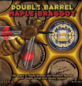 Hourglass 'Double Barrel Maple Braggot' 500ml