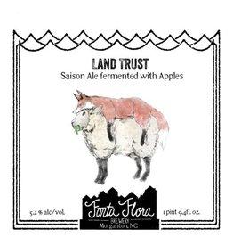 Fonta Flora 'Land Trust' Mixed-Culture Smoked Saison 750ml
