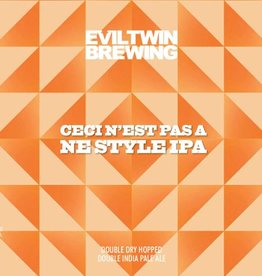 Evil Twin 'Ceci N'est Pas' Double Dry-hopped Double IPA 16oz Sgl (Can)
