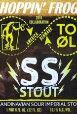 Hoppin' Frog x To Øl 'SS Stout' Scandinavian Sour Imperial Stout 22oz
