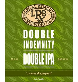 Legal Remedy 'Double Indemnity' Double IPA 12oz Sgl