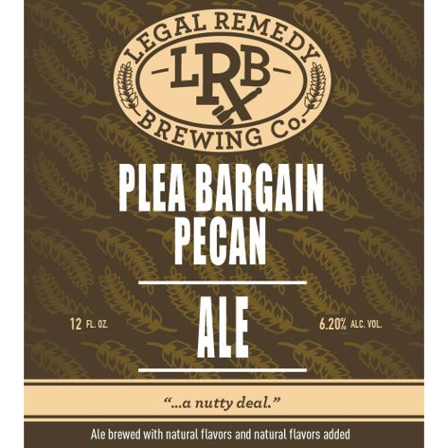 Legal Remedy 'Plea Bargain' Pecan Brown Ale 12oz Sgl
