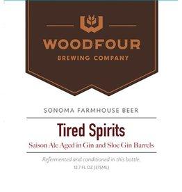 Woodfour 'Tired Spirits' Gin Barrel-aged Tart Saison 375ml Sgl