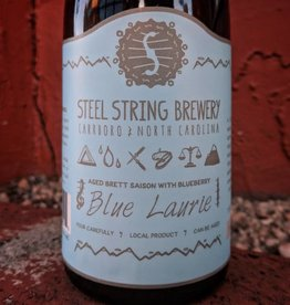 Steel String 'Blue Laurie' Brett Saison w/ Blueberry 500ml