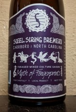 Steel String 'Myth of Fingerprints' Foraged Mixed Culture Saison 500ml