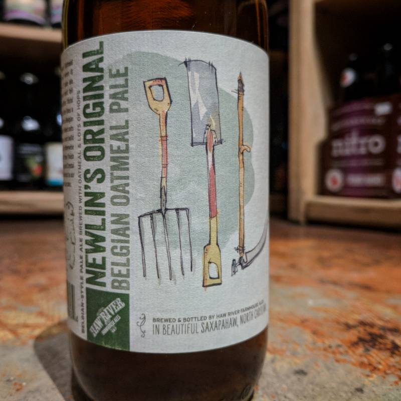 Haw River Farmhouse Ales Newlin's Original' Belgian Oatmeal Pale 500ml