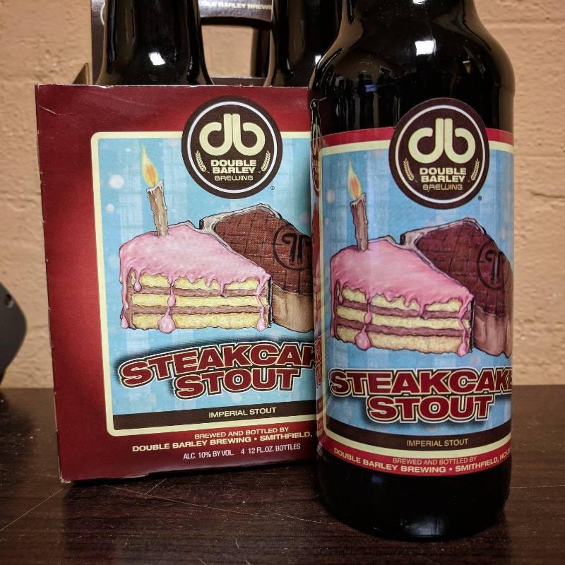 Double Barley 'Steakcake' Imperial Stout 12oz Sgl