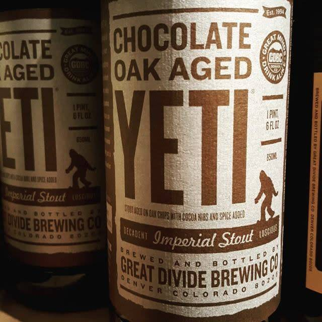 Great Divide 'Chocolate Oak Aged Yeti' Imperial Stout 22oz