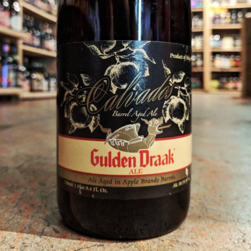 Van Steenberge 'Calvados Barrel-Aged Gulden Draak' 750ml