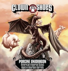Clown Shoes 'Porcine Unidragon' Smoked Imperial Stout Aged in Bourbon Barrels 22oz