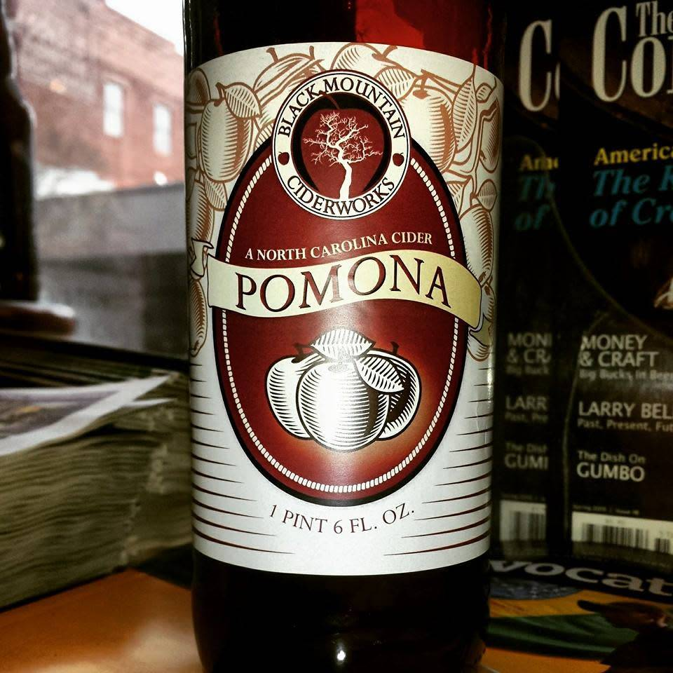 Black Mountain Ciderworks 'Pomona' Cider 22oz