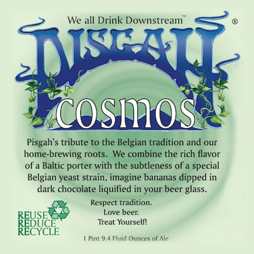 Pisgah Brewing Co. 'Cosmos' Belgian-Inspired Baltic Porter 750ml