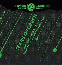 Captain Lawrence 'Tears of Green' Imperial IPA 16oz Sgl