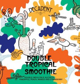 Decadent Ales 'Double Tropical Smoothie' Double IPA 16oz Sgl (Can)