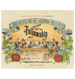 Blackberry Farm x Cigar City 'Southern Fellowship' Belgian Style Pale Ale 750 ml