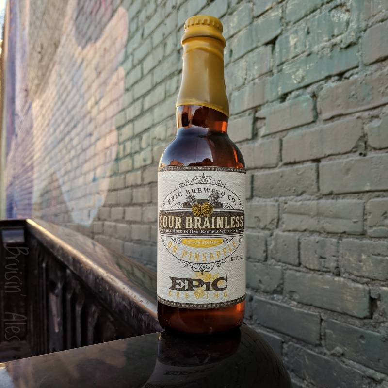 Epic 'Sour Brainless on Pineapple' Cellar Reserve Barrel-aged Sour Ale 375ml