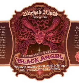 Wicked Weed 'Chocolate Covered Black Angel' Bourbon Barrel-aged Dark Sour Ale 500ml