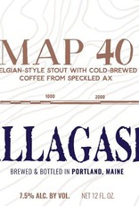 Allagash 'Map 40' Belgian-Style Coffee Stout 12oz Sgl
