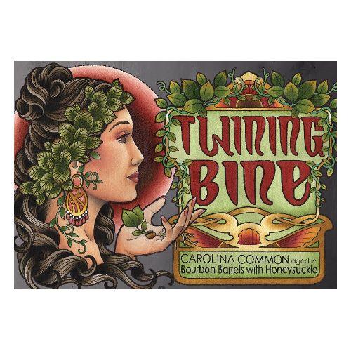 Bhramari 'Twining Bine' Bourbon Barrel-aged Carolina Common w/ Honeysuckle 750ml