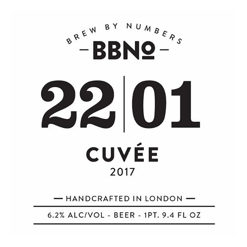 Brew By Numbers '22/01' Cuvee 750ml