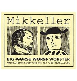 Mikkeller 'Big Worster' American-style Barleywine 375ml