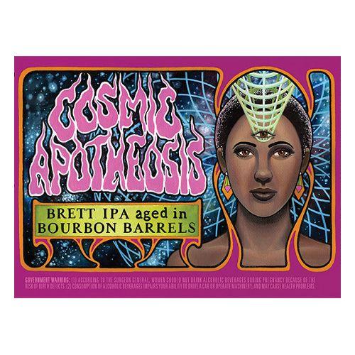 Bhramari x White Labs 'Cosmic Apotheosis' Brett IPA aged in Bourbon Barrels 750 ml